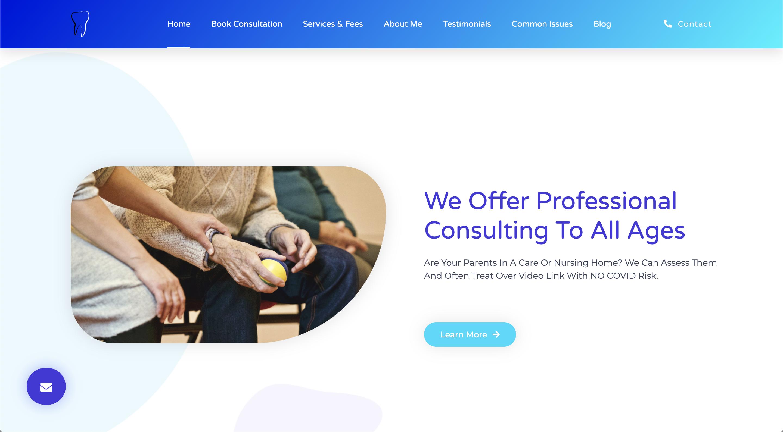 The Online Dentist Smart Web Health