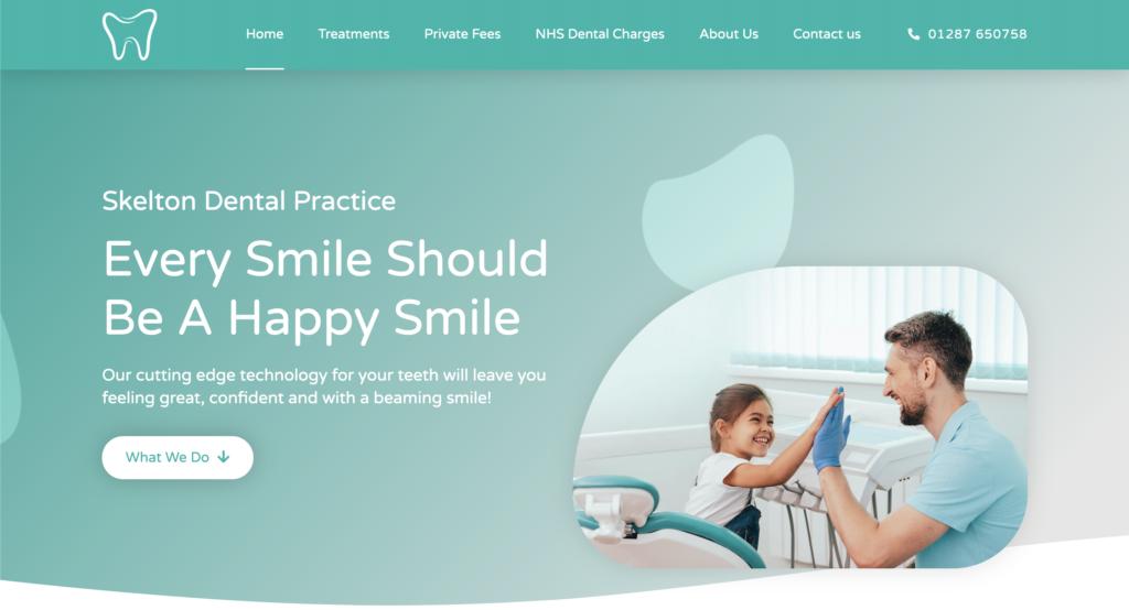 Dental Website Skelton Dental