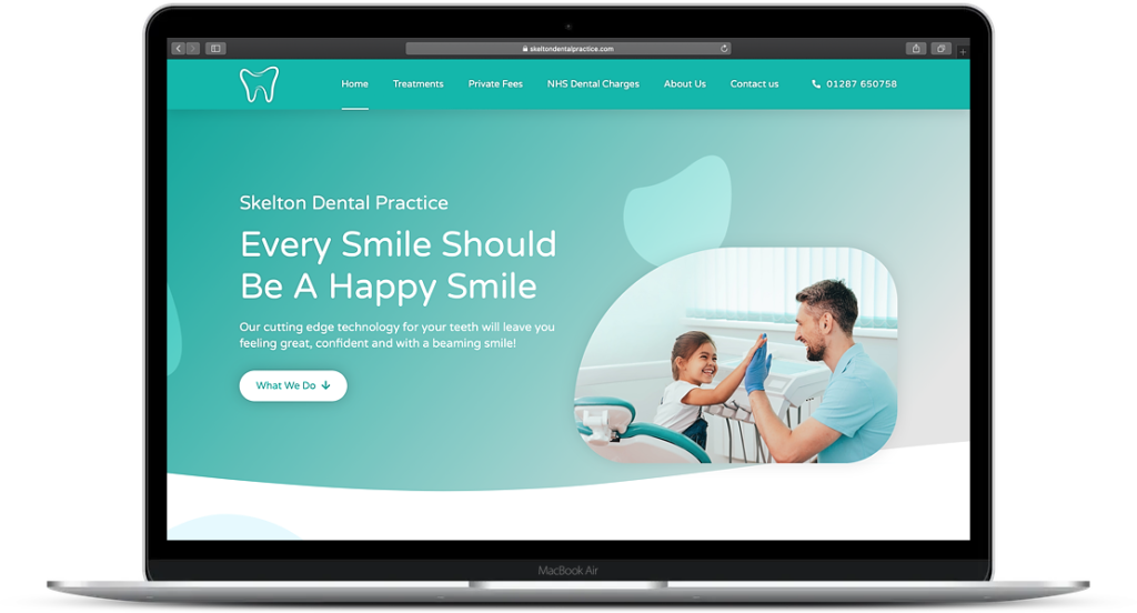 Website Landing Page Smart Web Health